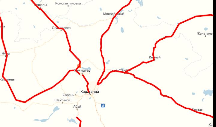 Қарағанды облысында барлық бағыттағы жолдар кешке дейін ашылуы тиіс