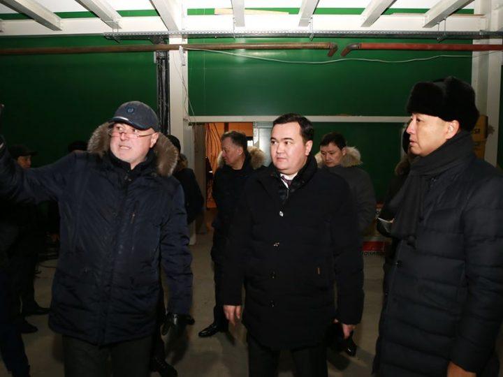 Қарағанды облысының әкімі құрылыс нысандарында болды