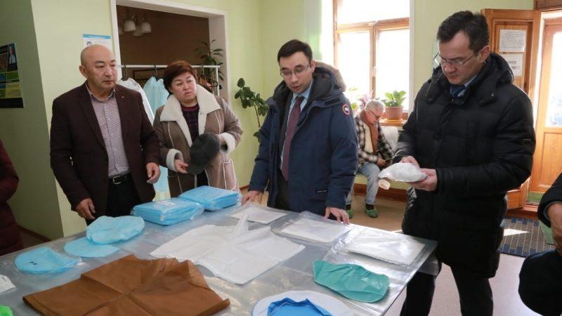 Қарағанды облысында медициналық маскалар шығарыла бастады