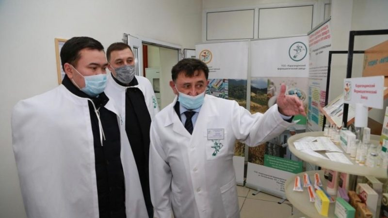 Қарағандының фармацевтикалық зауыттары өндіріс көлемін ұлғайтуда