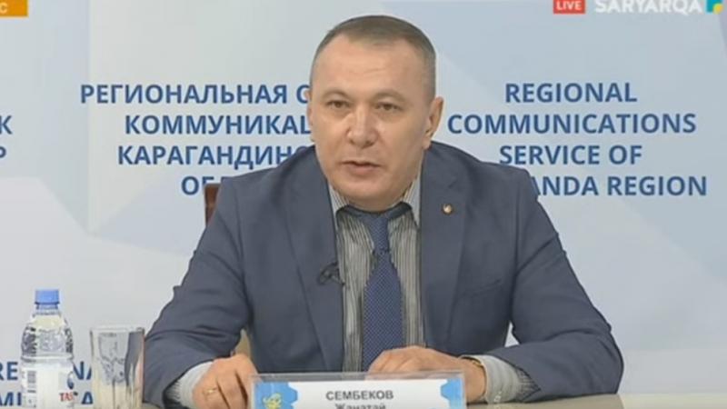Жанатай Сембеков: «Ішкі істер органдарының жеке құрамы күшейтілген режимге көшті»