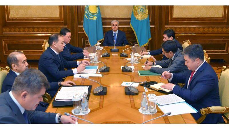 Президент бірқатар мемлекеттік орган басшыларымен кеңес өткізді