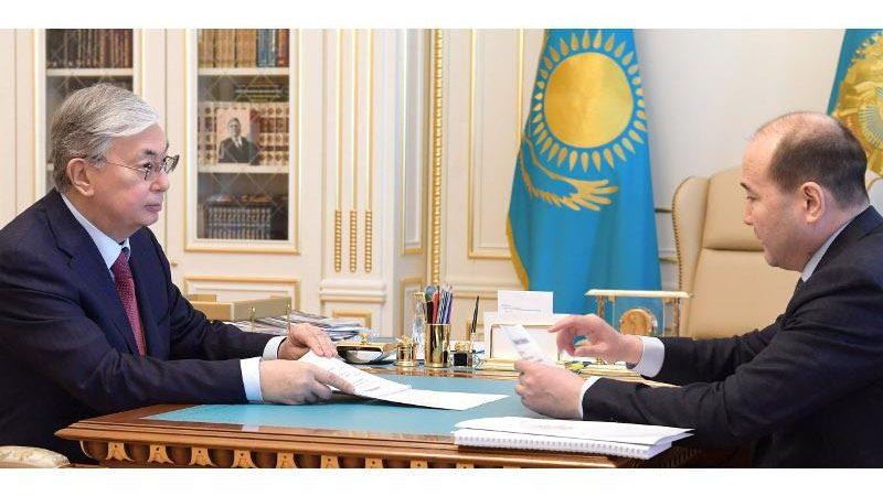 Қасым-Жомарт Тоқаев Бас прокурорды қабылдады