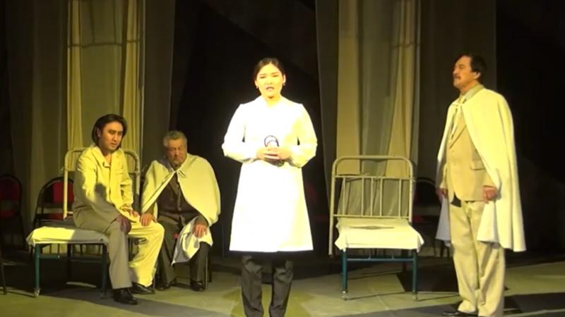 С. Сейфуллин театры дәрігерлерге алғыс ретінде бейнеролик түсірді (видео)