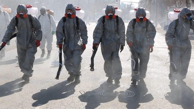 Қарағанды көшелері мен ғимараттарын дезинфекциялауға әскерилер көмектеседі