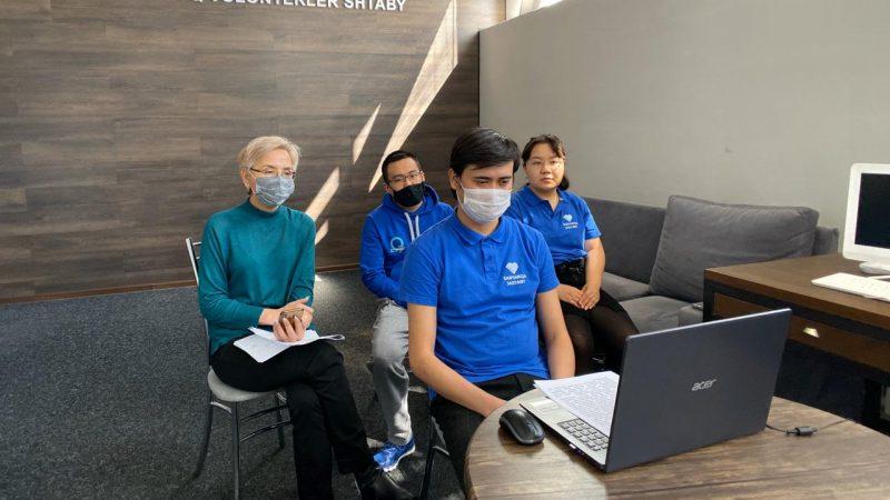 Қарағандыда волонтерлер қызметіне арналған онлайн-коференция өтті