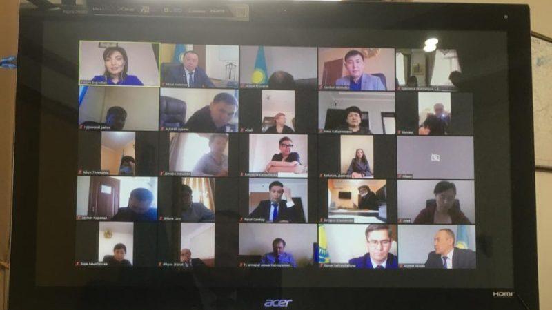 Қарағанды облысында ақпараттық жұмысты жандандыру мәселесі талқыланды