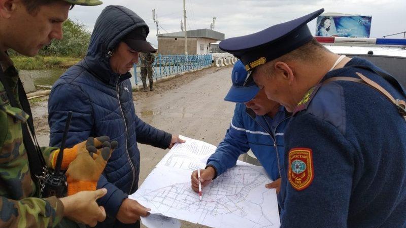 Қарағандылық құтқарушылар Түркістан облысының тұрғындарына көмектесуде