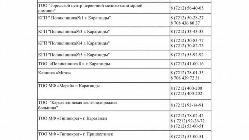 Құрметті Қарағанды және Қарағанды облысының тұрғындары!