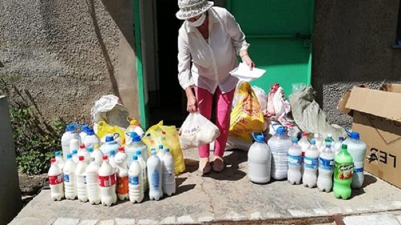 Талап ауылының тұрғындары Жезқазған қаласындағы ауруханаға ет-сүт өнімдерін жіберді
