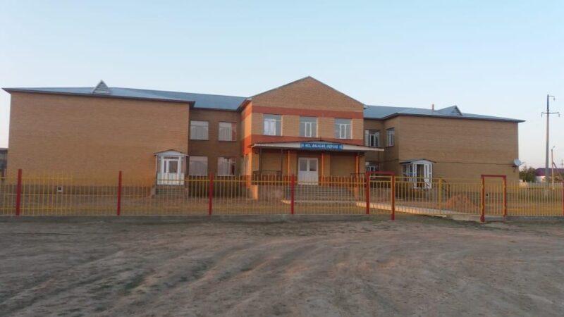 Қарағанды облысының Ұлытау ауданында жаңа мектеп салынды