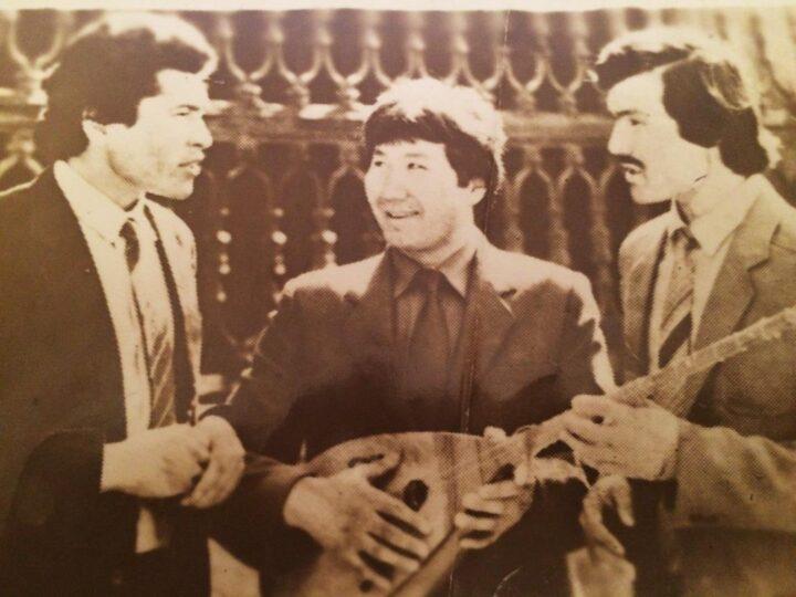Бір бәйге – үш лауреат
