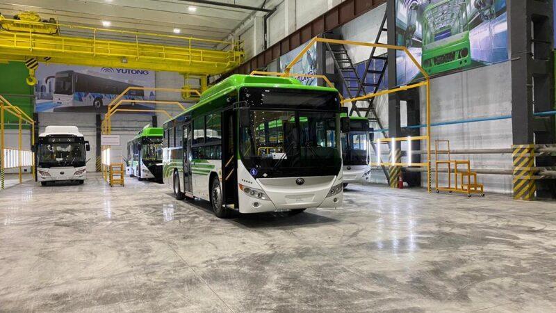 Жеңіс Қасымбек Қарағандыда автобус паркі қалай жаңартылатынын айтты