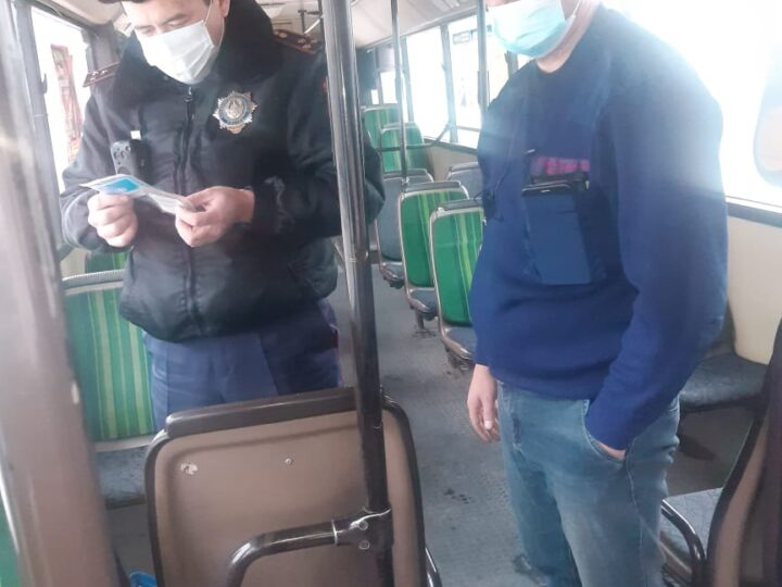 «Автобус» республикалық жедел-алдын-алу іс-шарасы өткізілді