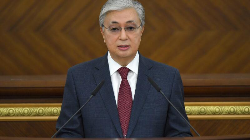 ҚР Президентінің VII шақырылымдағы Парламент  сессиясында сөйлеген сөзі