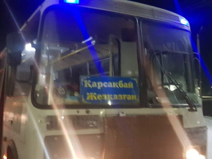 Жолаушылар автобусы сайлау учаскесіне арнайы бұрылды