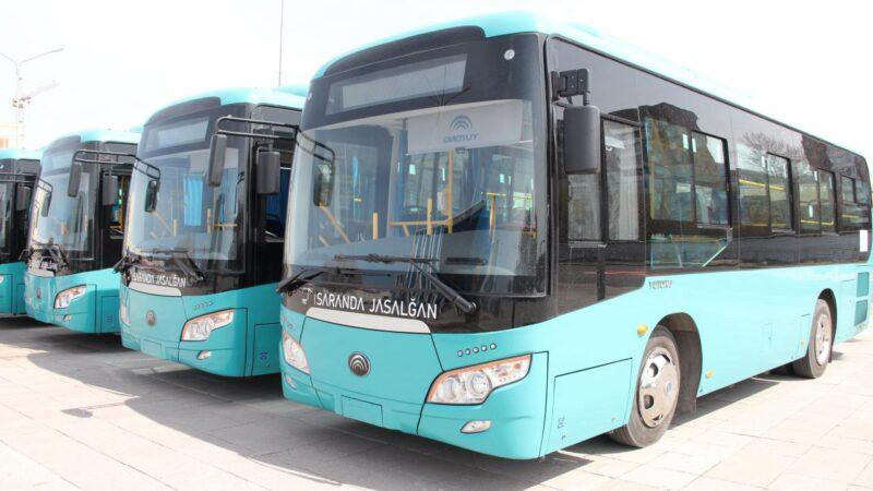 Қоғамдық көлік қатары жаңа автобуспен толықты