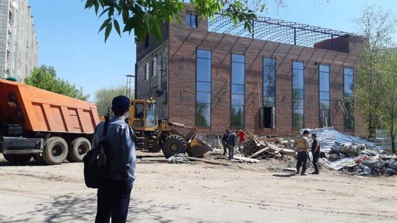 Қарағанды қаласында абаттандыру жұмыстары жүргізілуде
