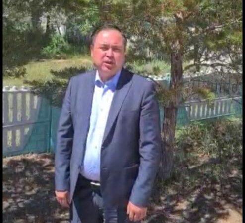Қарағанды облысында ауыл әкімі жанама сайлаудан бас тартты(ВИДЕО)