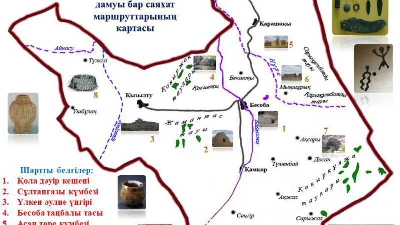 Бесобаның тарихи ескерткіштері