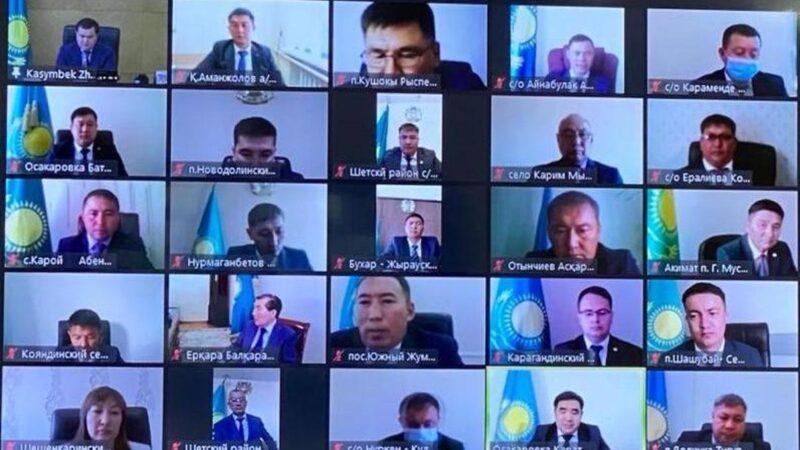 Қарағанды облысында сайланған 75 әкім қызметіне кірісті
