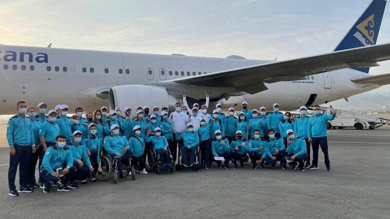 Қазақстанның Паралимпиадалық құрама командасы Токиоға аттанды