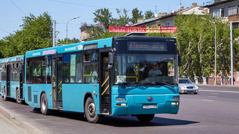 Автобус жүреді