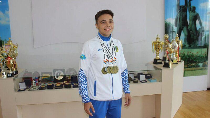 Қарағандылық жас спортшы әлем чемпионы атанды