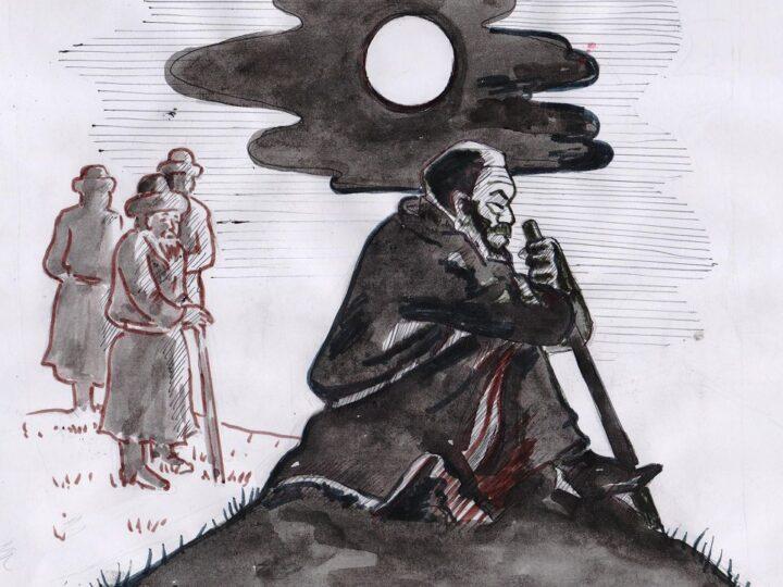 «Түскен тұман жарқ етіп, Шыққан күндей ашылар…»